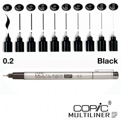 Copic Multiliner SP 0.2 MM