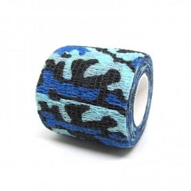 Benda Coadesiva Per Bendaggio Grip - Camouflage Blue