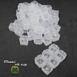 Cups Modulari Portapigmento 100pz Clear