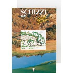 Blocco Schizzi Ruvido, formato A4 - 115gr