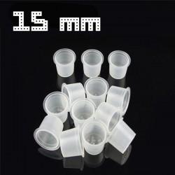 Cups Porta pigmento L (15MM) 400PCS
