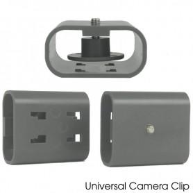 Glamcor Universal Camera Clip Gray