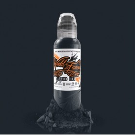 World Famous Ink - A.D Pancho Pastel Grey #4 120ml (4oz)