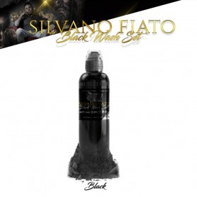 World Famous Ink 30ml - Silvano Fiato Black Wash Set - Black 30ml