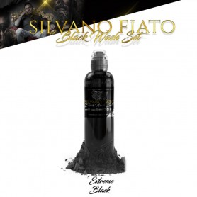 World Famous Ink 30ml - Silvano Fiato Black Wash Set - Extreme Black 30ml