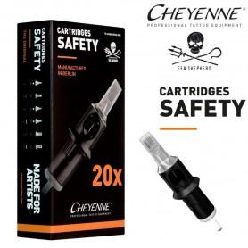 Cartridge Cheyenne Magnum Soft Edge 27 - BugPin Long Taper 0,30mm 20pcs