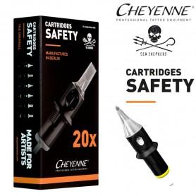 Cartridge Cheyenne Round Shader 15 - Long Taper 0,30mm 20pcs