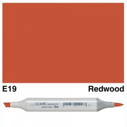 E19 Copic Sketch Redwood