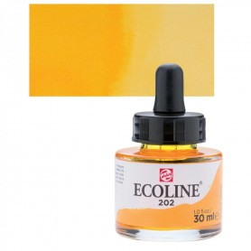 Talens - Ecoline 202 Deep Yellow 30ml