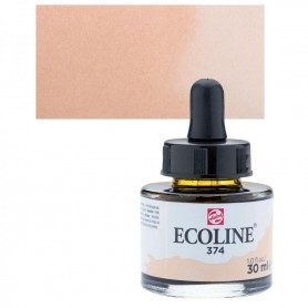 Talens - Ecoline 374 Pink Beige 30ml