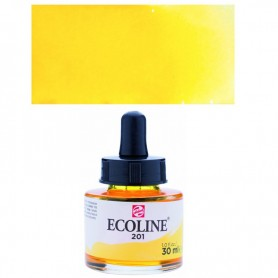 Talens - Ecoline 201 Light Yellow 30ml