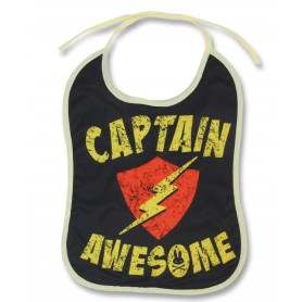 BABY BIBS - CAPTAIN AWESOME