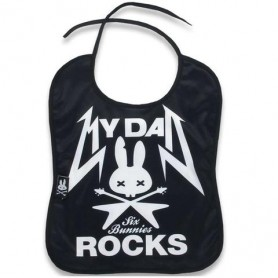 BABY BIBS - MY DAD ROCKS