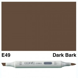 E49 Copic Ciao Dark Bark