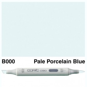 B000 Copic Ciao Pale Porcelain Blue
