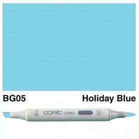 BG05 Copic Ciao Holiday Blue