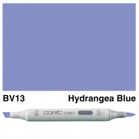 BV13 Copic Ciao Hydrangea Blue