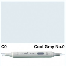 C-0  Copic Ciaol Cool Gray No.0