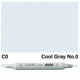 C-0  Copic Ciaol Cool Gray No.0