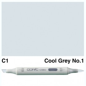C-1 Copic Ciao Cool Gray No.1