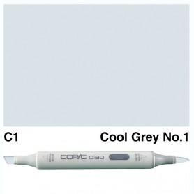 C-1 Copic Ciao Cool Gray No.1