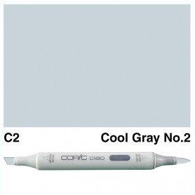 C-2  Copic Ciaol Cool Gray No.2