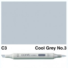 C-3 Copic Ciao Cool Gray No.3