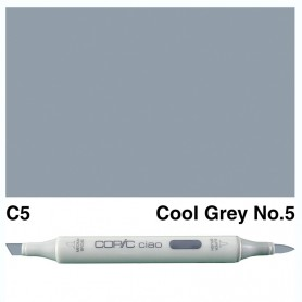 C-5 Copic Ciao Cool Gray No.5