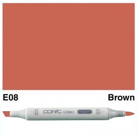E08 Copic Ciao Brown