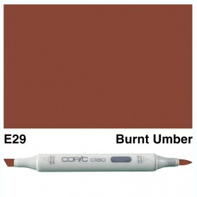 E29 Copic Ciao Burnt Umber