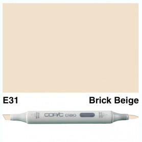 E31 Copic Ciao Brick Beige
