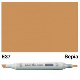E37 Copic Ciao Sepia