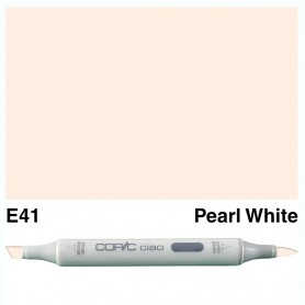 E41 Copic Ciao Pearl White
