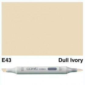 E43 Copic Ciao Dull Ivory