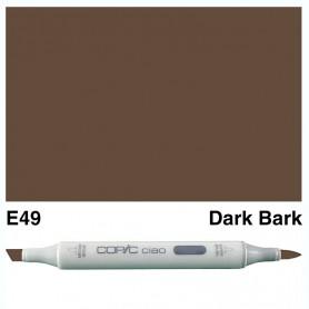 E49 Copic Ciao Dark Bark