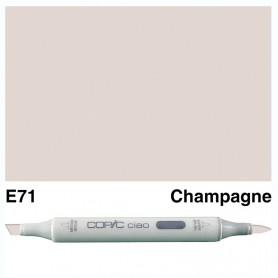 E71 Copic Ciao Champagne