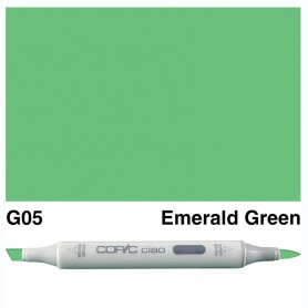 G05 Copic Ciao Emerald Green