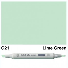 G21 Copic Ciao Lime Green