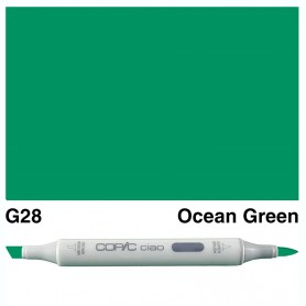 G28 Copic Ciao Ocean Green