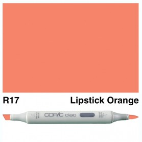 R17 Copic Ciao Lipstick Orange