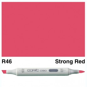 R46 Copic Ciao Strong Red