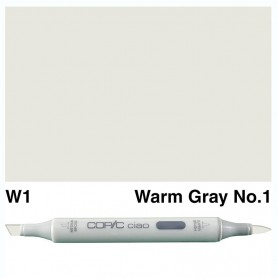 W-1 Copic Ciao Warm Gray No.1