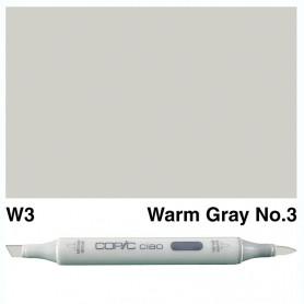 W-3 Copic Ciao Warm Gray No.3