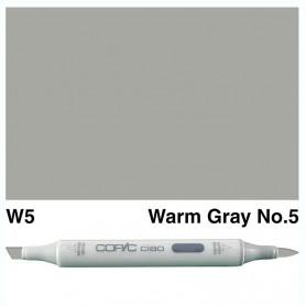 W-5 Copic Ciao Warm Gray No.5