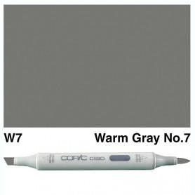 W-7 Copic Ciao Warm Gray No.7