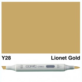Y28 Copic Ciao Lionet Gold