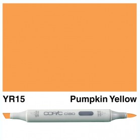 YR15 Copic Ciao Pumpkin Yellow
