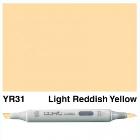 YR31 Copic Ciao Light Reddish Yellow