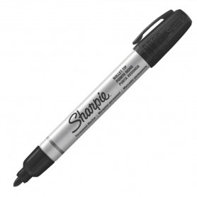 Pennarello Sharpie Bullet Tip Black
