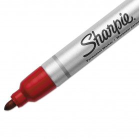 Pennarello Sharpie Bullet Tip Red